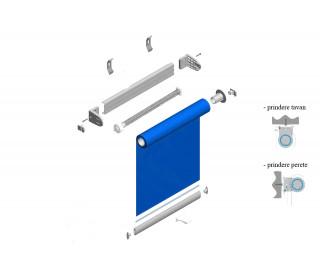 Rolete cu arc Maxi pt perete/tavan